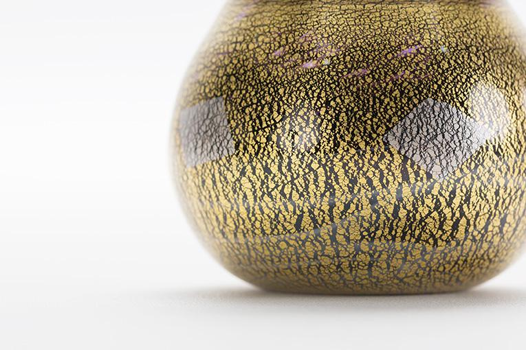 ミニ骨壷 アートガラス骨壷 和音 - WATO SSサイズ