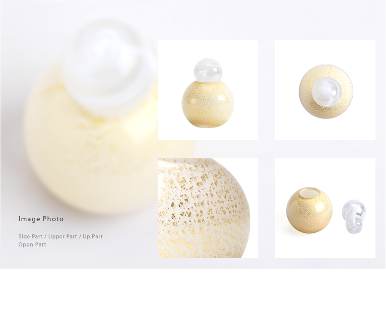 ミニ骨壺 MONO スフィアホワイト