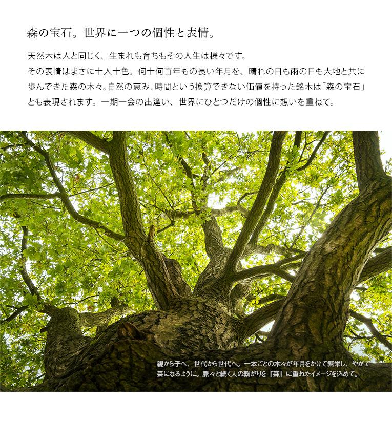 森の宝石。世界に一つのお位牌