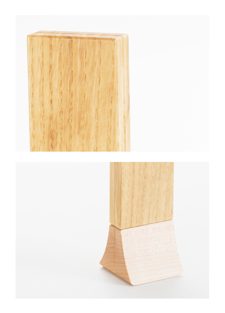 森の位牌 3.5寸 栗 限定銘木・天然木