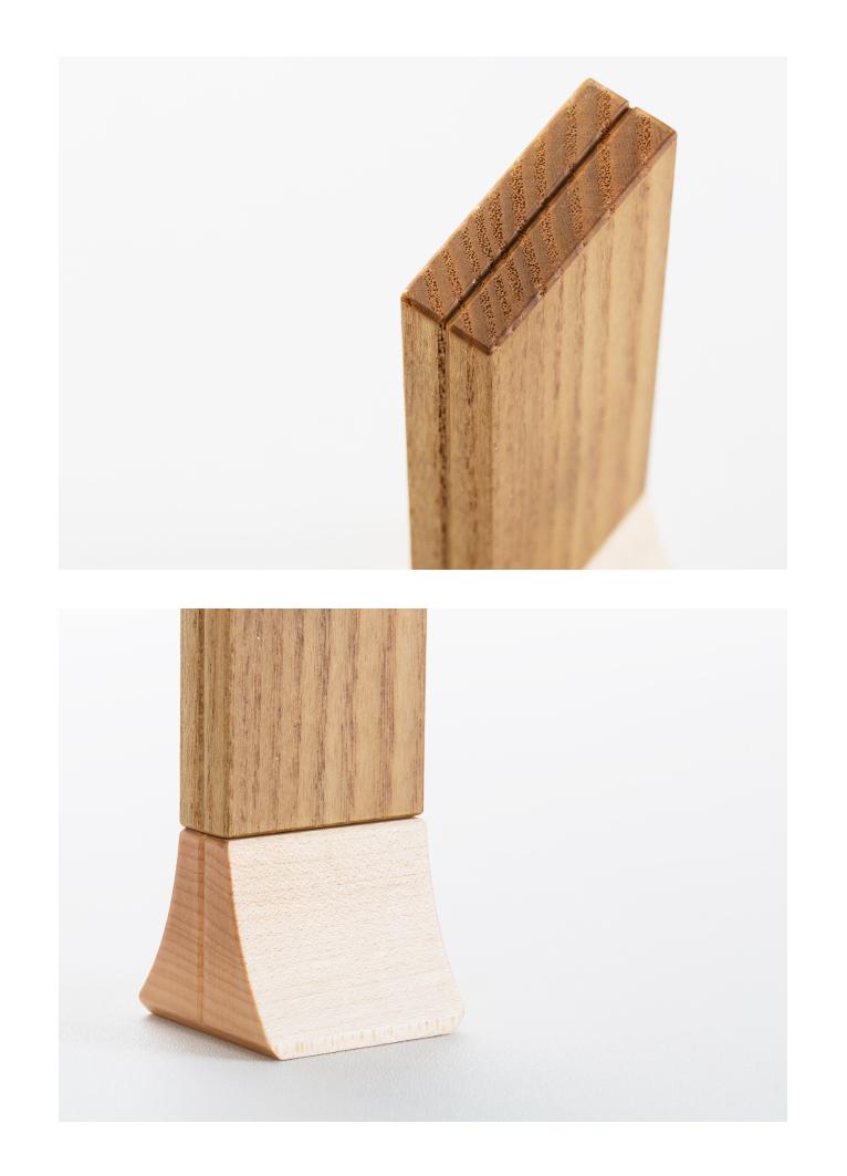 森の位牌 3.5寸 ササフラス 限定銘木・天然木