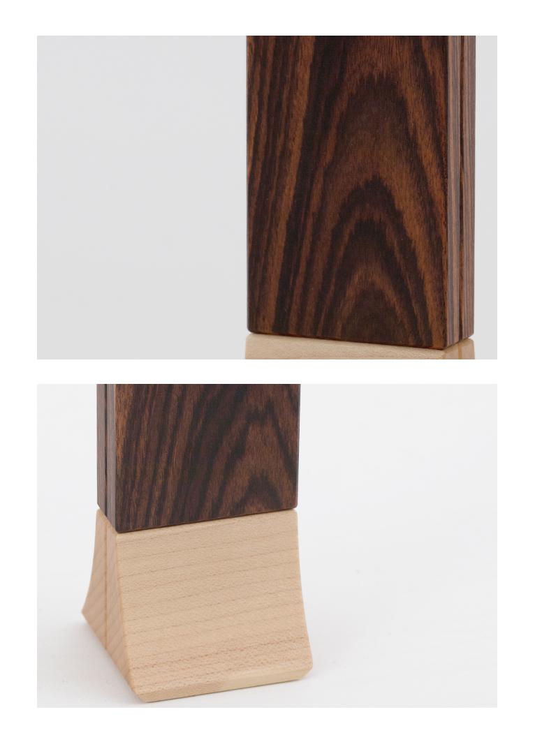 森の位牌 3.5寸 キングウッド 限定銘木・天然木