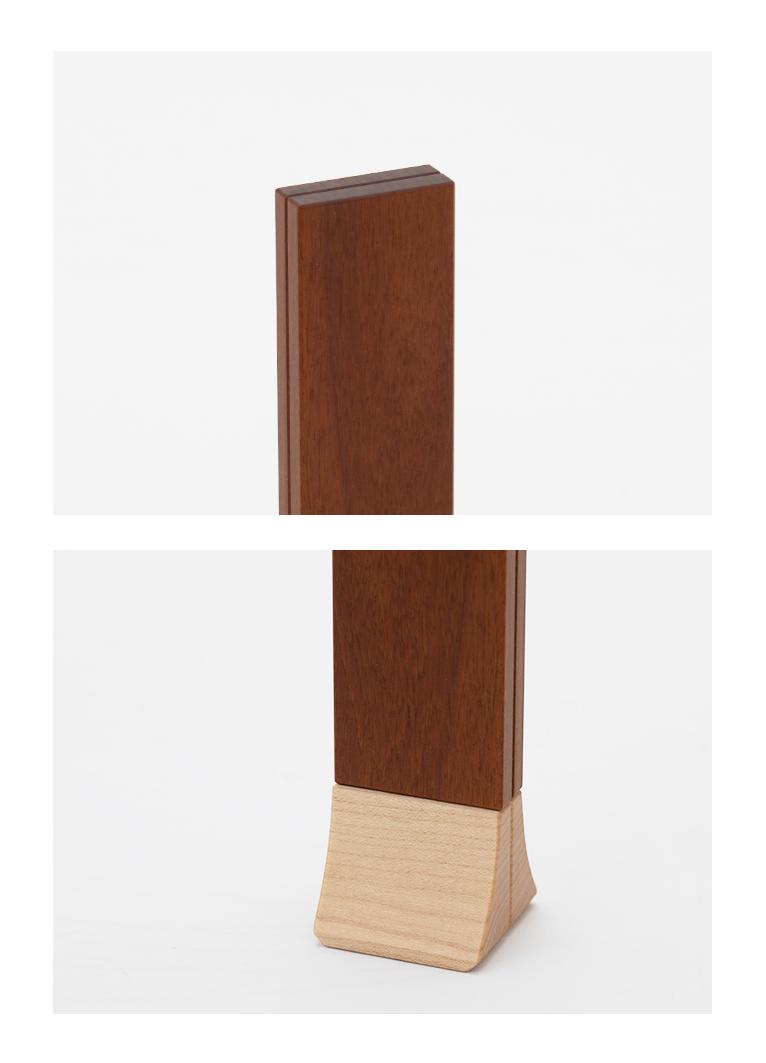 森の位牌 3.5寸 イペ 限定銘木・天然木