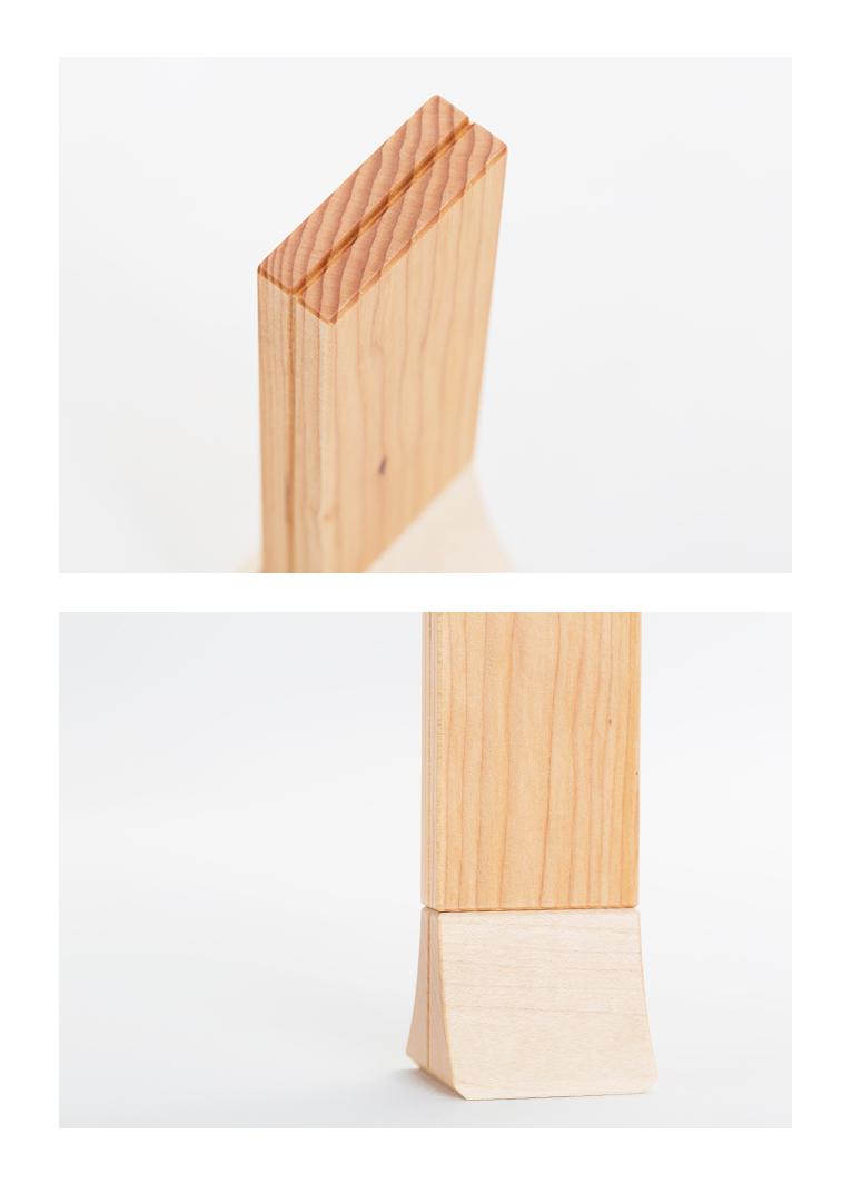 森の位牌 3.5寸 メタセコイア 限定銘木・天然木
