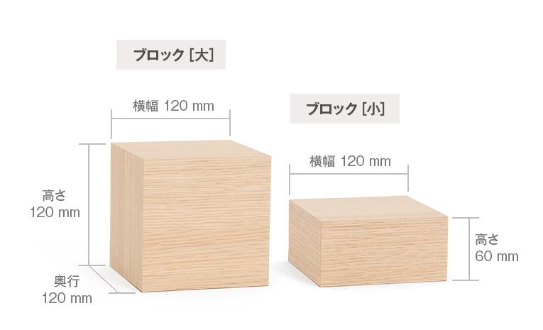 須弥壇ブロックのサイズ