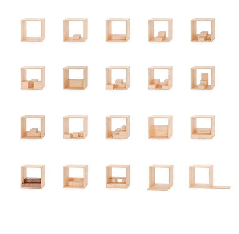 何十通りにもパズルのように組合せ可能なお仏壇