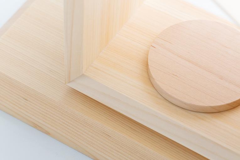 質感と素材のイメージ いのりのおうち15 ヒノキ 無垢材限定モデル