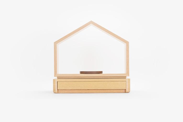 お家の仏壇 いのりのおうちステージ台セット 外観スライド