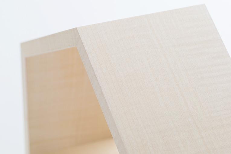 質感と素材のイメージ おうち ワイド310 シカモア 限定モデル