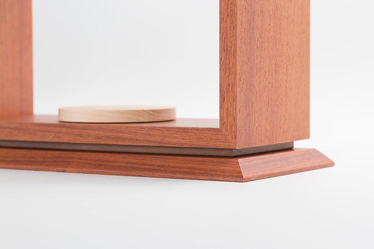 質感と素材のイメージ おうち ワイド310 カリン 限定モデル