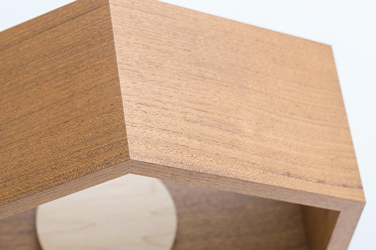 質感と素材のイメージ おうち ワイド310 チーク 限定モデル