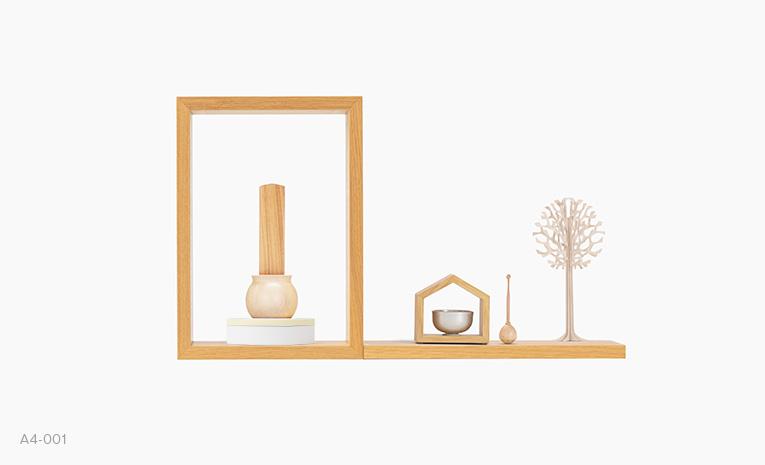 まあるい小箱100 ひよこ色 仏壇・仏具組み合わせイメージ