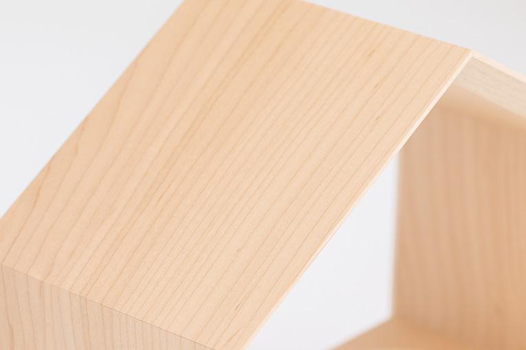 質感と素材のイメージ いのりのおうちワイド無垢250 メープル
